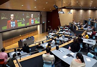 Vedtok opptak av forelesninger ved NTNU – med noen unntak