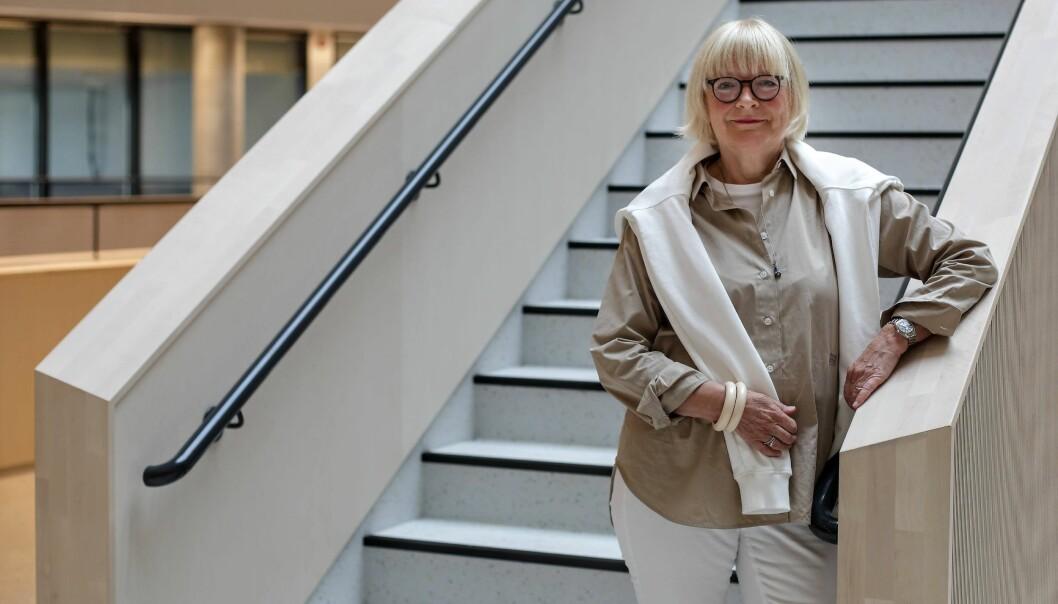 Berit Rokne leder i dag sitt siste styremøte på Høgskulen på Vestlandet (HVL).