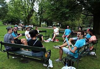 Blant pirater, studenter og faddervakter i parken
