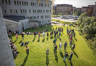 UiT går motstrøms — oppfordrer studentene til å bruke campus