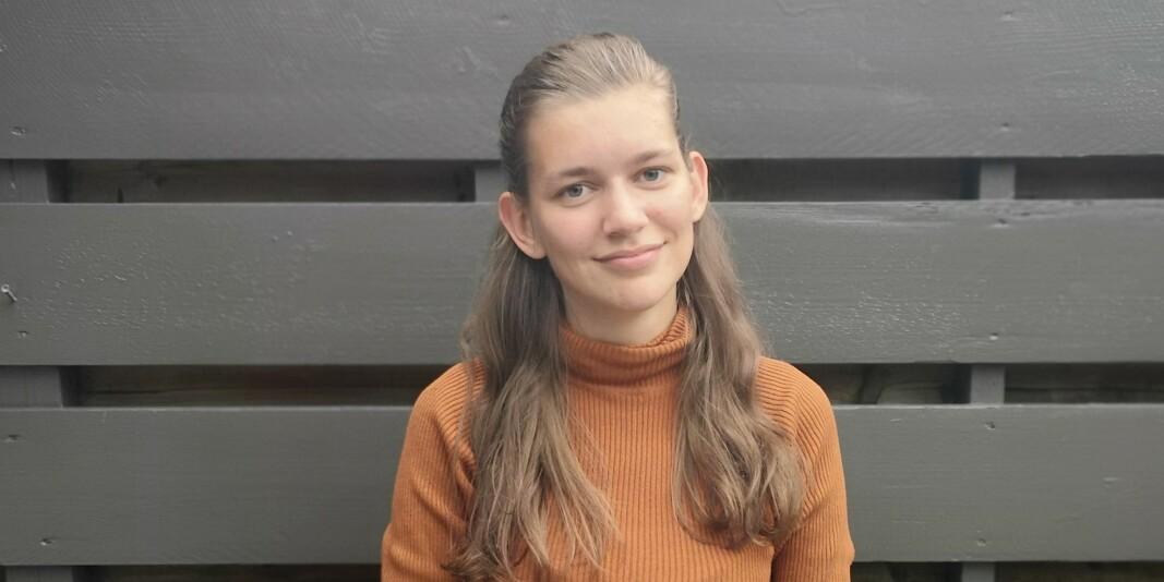 Student ved Universitetet i Bergen, Therese Eide, opplevde å få stygge meldinger etter å ha uttalt seg om fadderuka i en TV 2-reportasje.