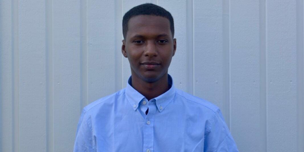 Amanuel Meselu (19) skal flytte til Halden for å studere statsvitskap ved Høgskulen i Østfold.