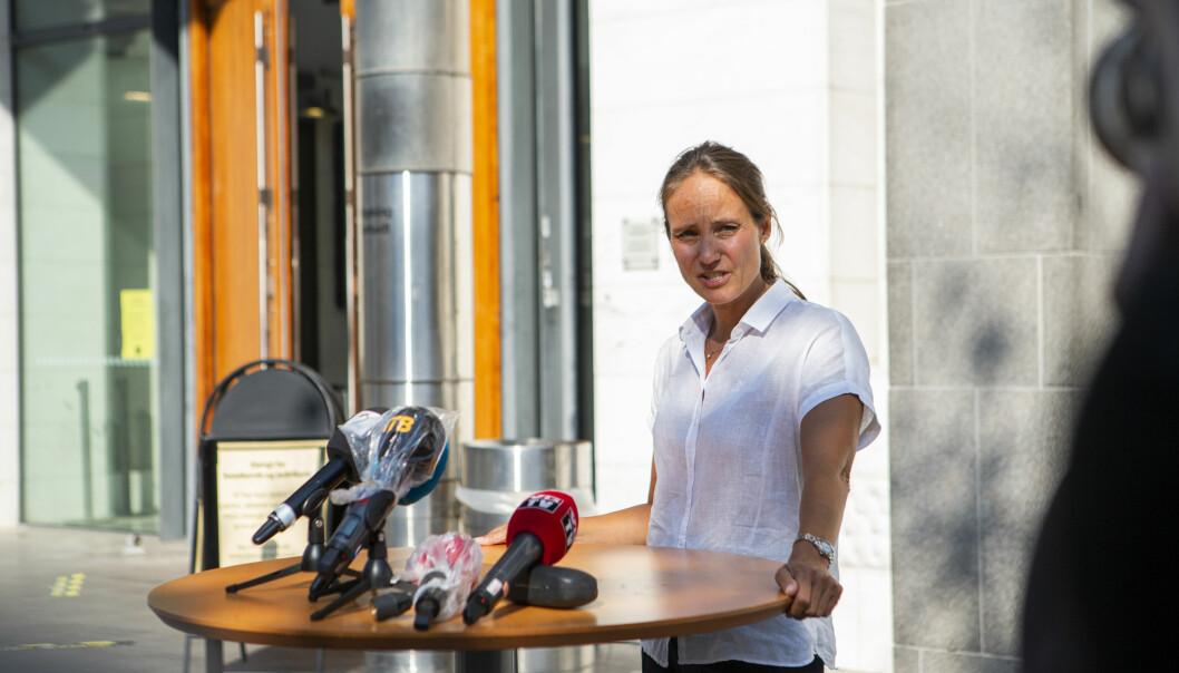 Advokat Marianne Darre-Næss sier det ikke er noen dramatikk i utvidelsen av siktelsen.