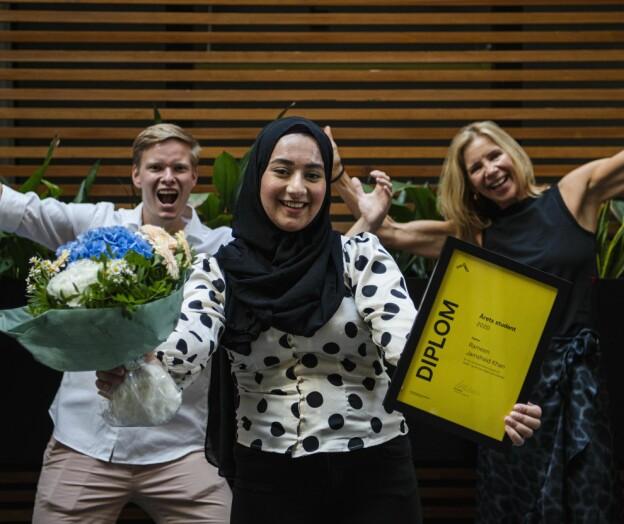 Rameen er årets OsloMet-student