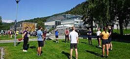 Fire smittede ved HINN Lillehammer