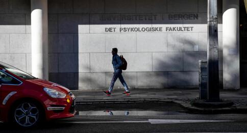 Kjønnspoeng fikk 17 flere menn inn på psykologi