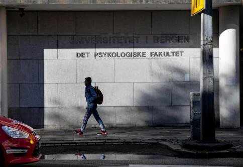 To smittede i forelesning i Bergen