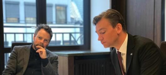 Asheim blir vikar for Røe Isaksen som arbeids- og sosialminister