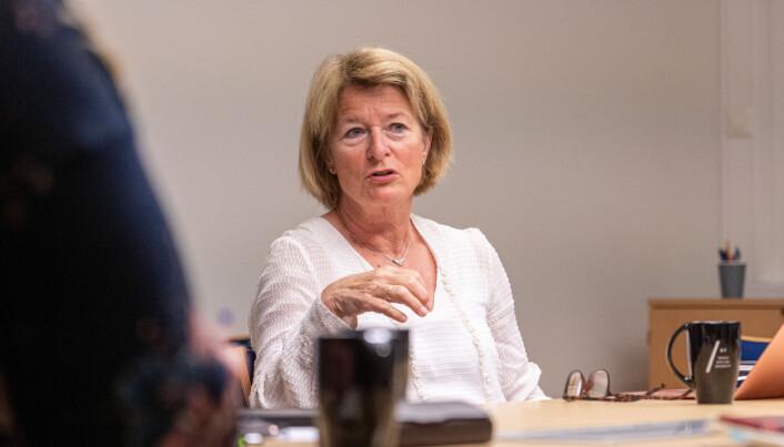 UiT-rektor Anne Husebekk mener det nå er god kvalitet på det som leveres fra senteret.