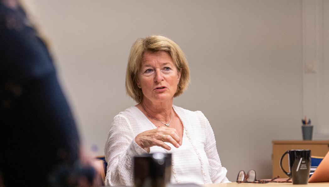 11 års venting på midler til drift av Rettsgenetisk senter er over for UiT-rektor Anne Husebekk.