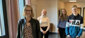 Åpnet nye studenboliger i Levanger