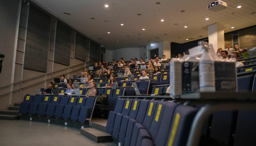 Studenter samtykker til opptak ved å delta i forelesningen, ifølge nye regler ved UiT.
