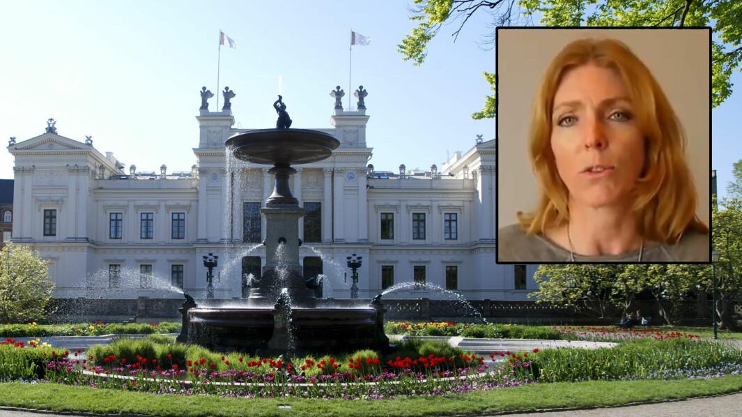 Maria Lindblad (innfelt) er internasjonal kommunikasjonsarbeider og administrator på Lunds universitets Facebook-side.
