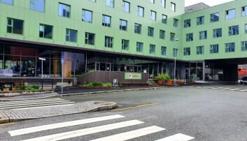 Koronahotellet på Danmarks plass.
