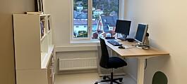 Enekontor gir ikke mer smitte enn kontorlandskap