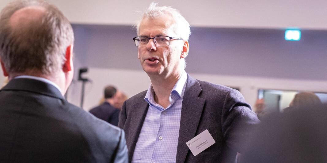 NHH-rektor Øystein Thøgersen mener de gjorde gode beslutninger om fadderuken.
