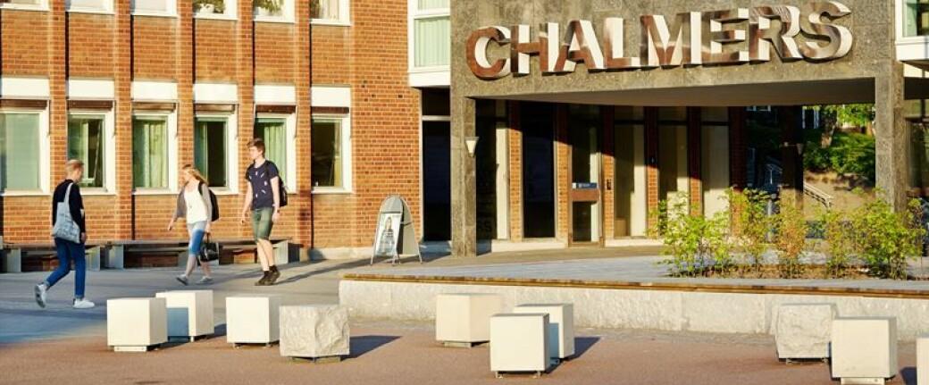 For å minimerer oppsigelser tilbys ansatte å slutte på dagen ved Chalmers tekniske høgskole i Gøteborg.