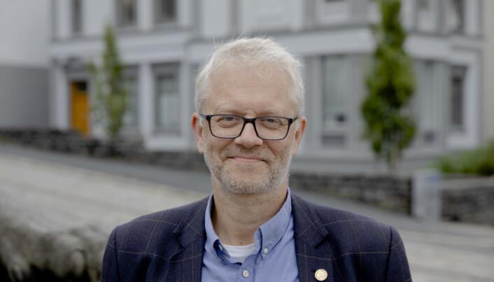 Nils Gunnar Kvamstø, marin dekan ved Universitetet i Bergen.