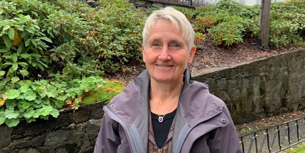 Finansprofessor ved Norges Handelshøyskole, Karin S. Thorburn, er én av få kvinner på lønnstoppen blant landets professorer.