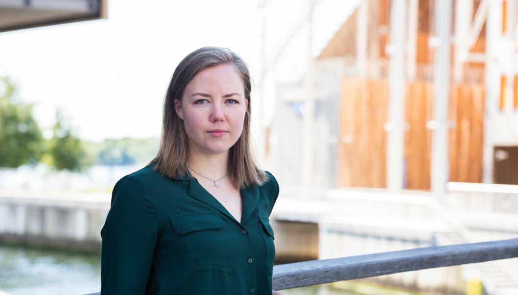 Leder for NITO Studentene, Silje Skyttern, kommenterer Høyres utkast til partiprogram.