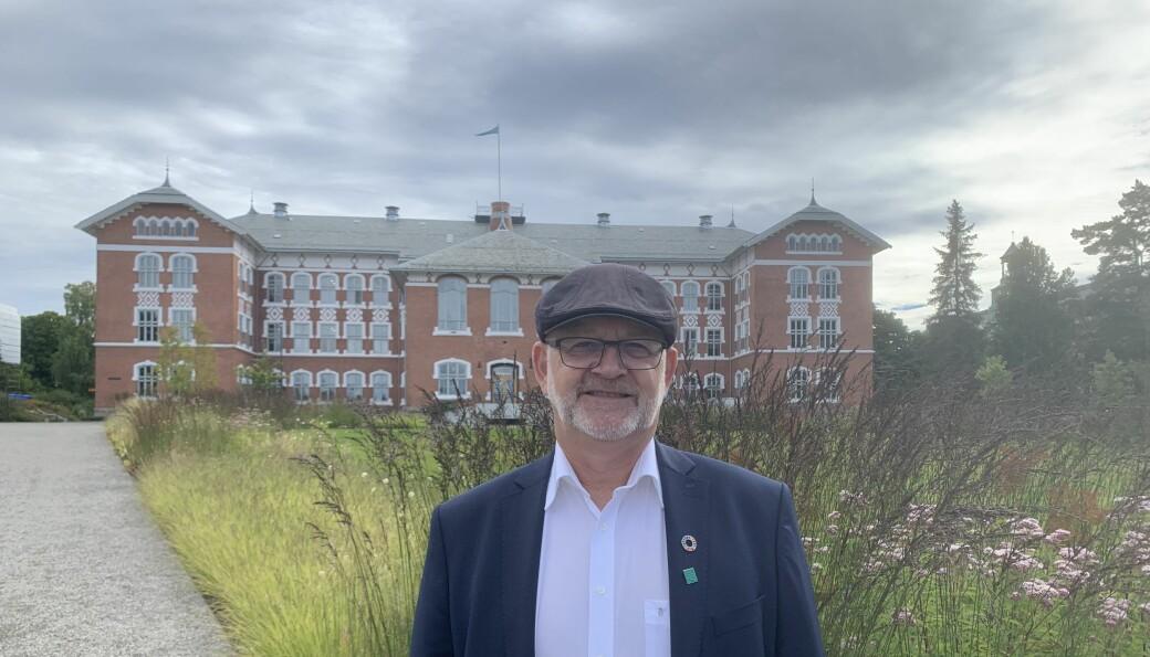 Rektor med suksess: NMBU-rektor Sjur Baardsen er veldig fornøyd med resultatene fra Forskningsrådets utlysing. Denne uken deler Forskningsrådet også ut mer penger.