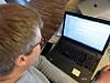skjerm og tastatur til lesesalplass oslomet