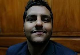Ahmed Elbasuoney gjennomførte demokratiemnet ved ISS denne sommeren.