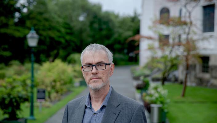 — Da Sigmund Grønmo stilte som rektorkandidat for første gang i 2005 gikk Forskerforbundet ut og støttet ham. Jeg vil derfor si at det verken er vanlig eller uvanlig at vi gjør sånt, sier hovedtillitsvalgt Steinar Vagstad i Forskerforbundet i Bergen.