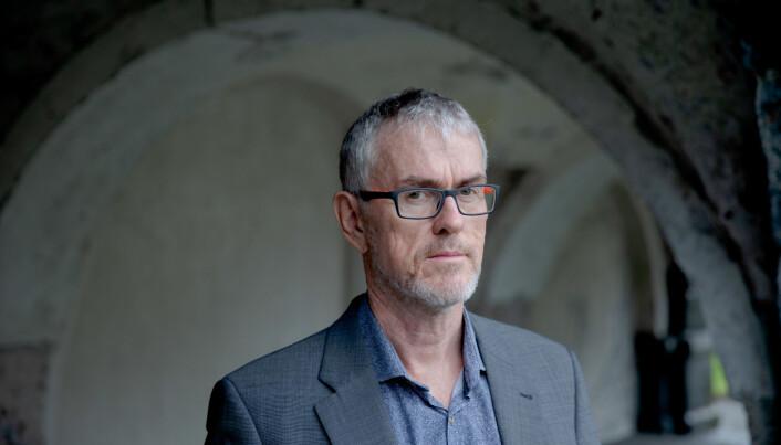 UiB, Bergen 20200908: Professor/hovedtillitsvalgt Steinar Vagstad, Forskerforbundet. FOTO: PAUL S. AMUNDSEN