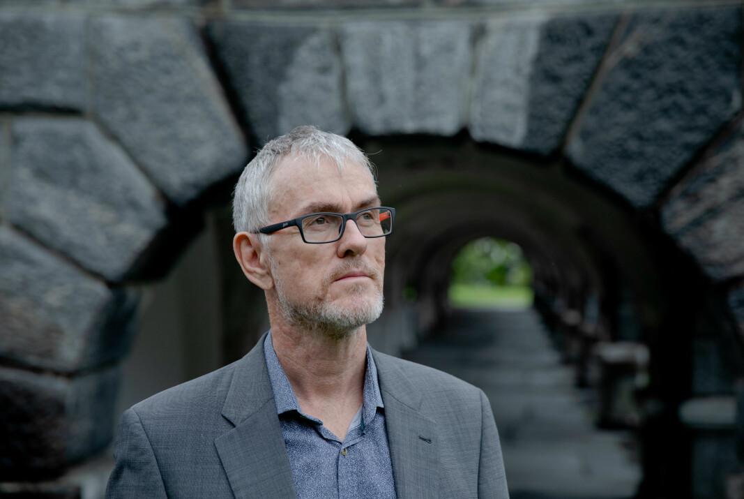 Professor og hovedtillitsvalgt Steinar Vagstad, Forskerforbundet i Bergen regner med spørsmål fra medlemmene etter at de gikk inn for å gi hele summen for en enventuell koronabonus til stipendiatene ved universitetet..