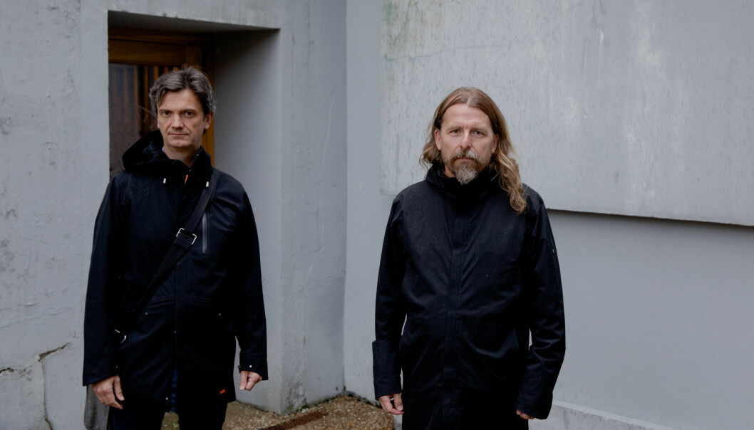 Saka mot Julian Assange er handlar ikkje om han er ein utriveleg fyr eller ikkje, men om ekstremt viktige prinsipp, meiner Frode Helmich Pedersen (til venstre) og Gisle Selnes, som begge har engasjert seg sterkt for Wikileaks-grunnleggaren.