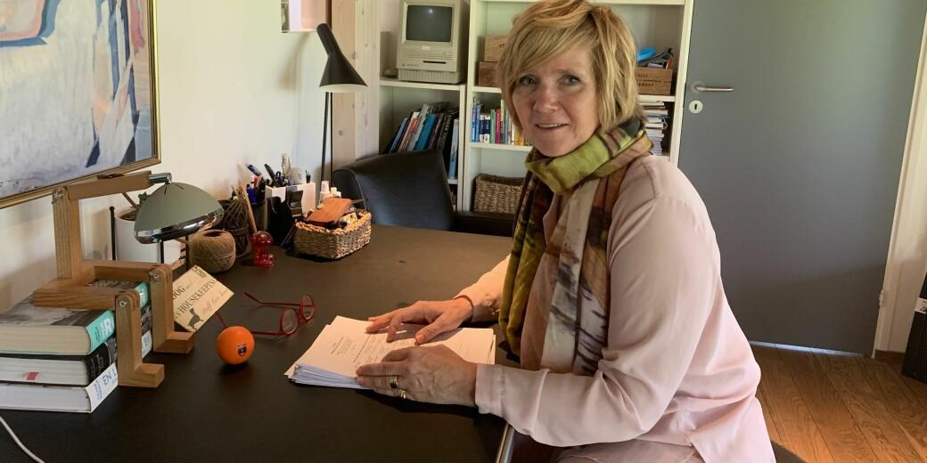 Professor Christine Meyer ved NHH advarer mot en hjemmekontor-praksis som blir så omfattende at universiteter og høgskoler blir folketomme.