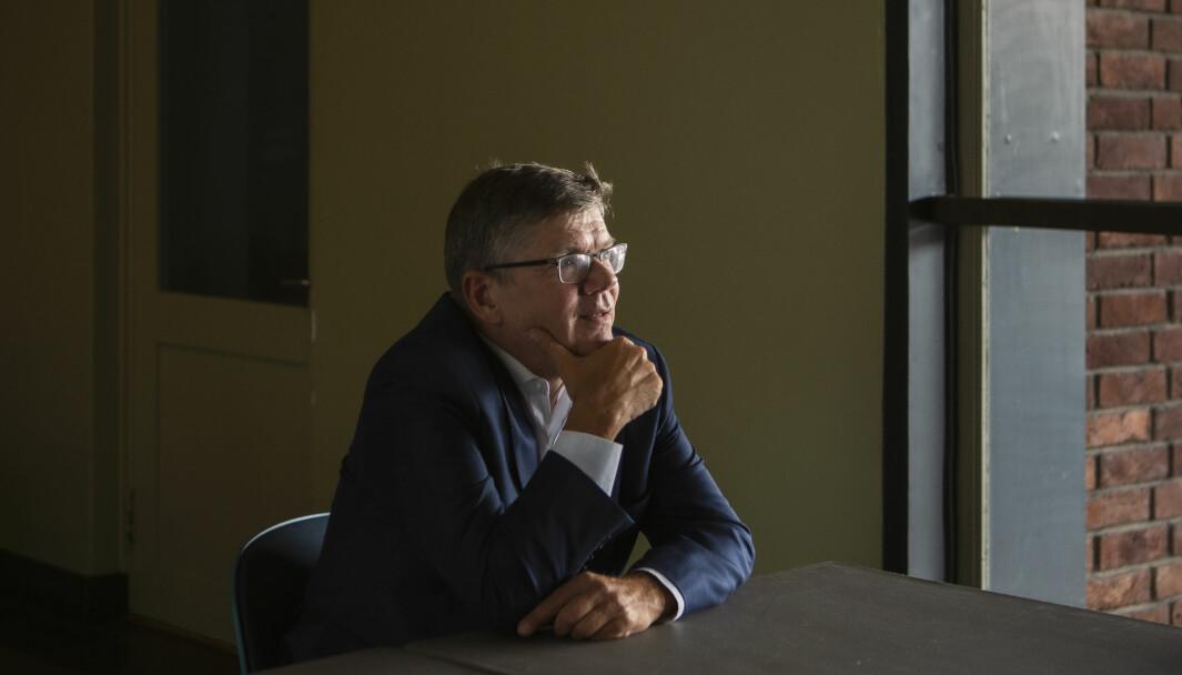 — Det er noe med å faktisk «styre i det store, ikke i det små», sier rektor ved Universitetet i Oslo, Svein Stølen.
