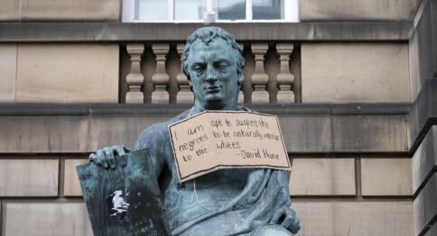 Universitet fjernar 1700-talsfilosofen David Hume etter skuldingar om rasisme