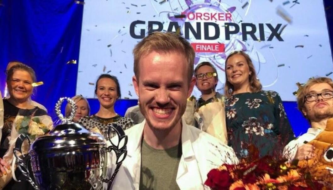 Søvnforsker Daniel Vethe vant Forsker grand Prix i 2019.