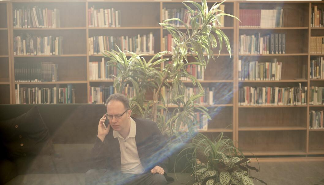 — Det kan ikke være slik at det er egne spilleregler som gjelder når det er Øyvind Eikrem (bildet) som er involvert, sier Forskerforbundets Marte Villmo om NTNU-ledelsens håndtering av saken.