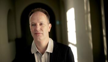 Øyvind Eikrem, fotografert på NTNU Gløshaugen.