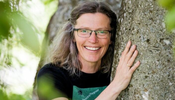 Professor Anne Sverdrup-Thygeson på NMBU.