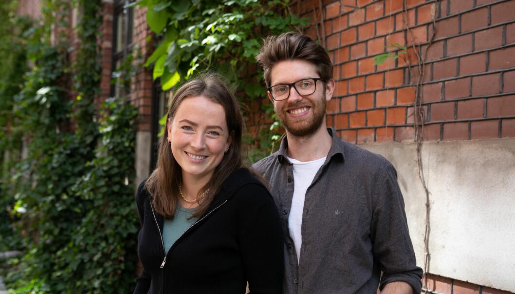 Regissør Maren Klakegg og produsent Simon Samdal kan glede seg over mottakelsen deres film «Kjære far...» har fått.