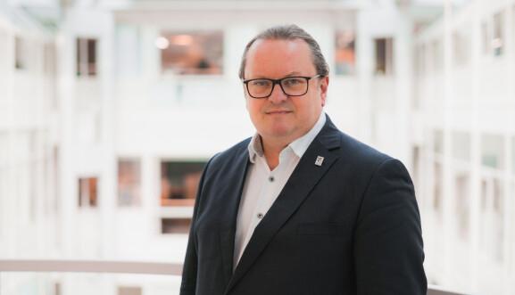 Arne H. Krumsvik, rektor på Høyskolen Kristiania.