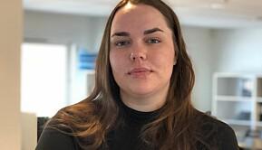 Leder for Studenttinget, Åste Hagerup, stilte spørsmål om eksamen.
