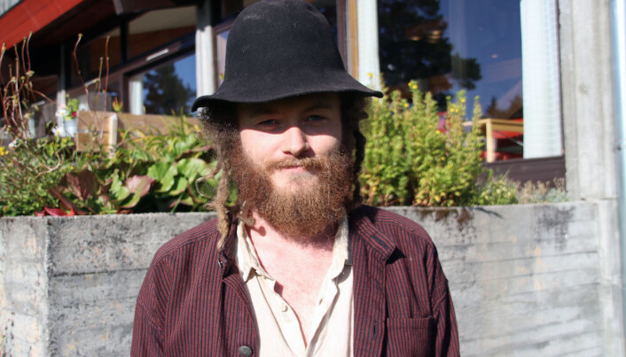 Haavard Lund Sunde Løftingsbakken studerer instrumentmaking.