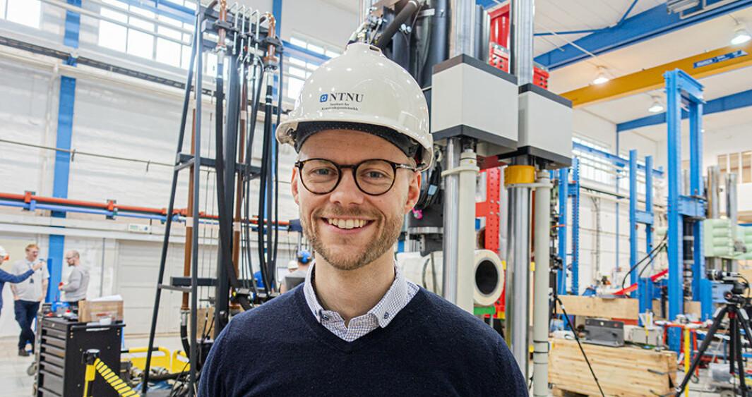 Ole Vestrum, doktor fra SFI CASA på NTNU.