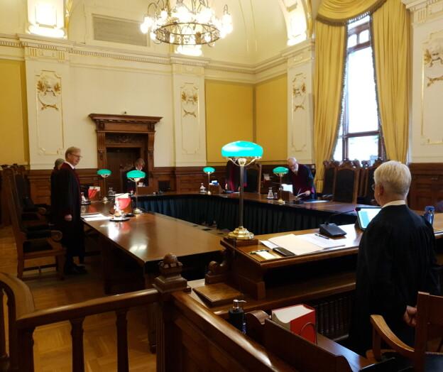 Patentstrid i Høyesterett: — Dette gjelder forholdet mellom arbeidstaker og arbeidsgiver