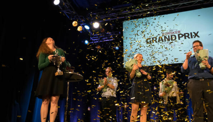 Vinnerne i delfinale i Stavanger 2020. Forsker Grand Prix.