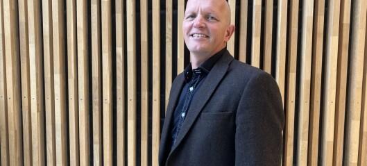 Gunnar Yttri er ny rektor på Høgskulen på Vestlandet