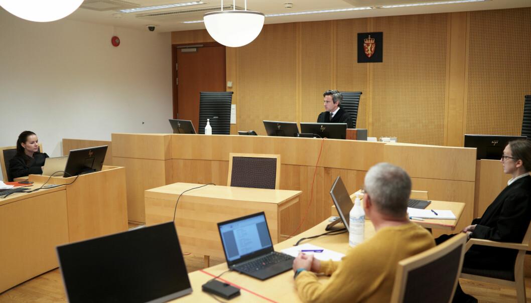 Rettssaken går over tre dager i Oslo tingrett. Studenten er representert av advokat Henriette Willix (til v.)