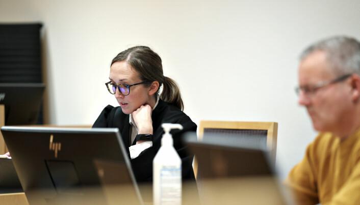 Advokatfullmektig Liv Inger Gjone Gabrielsen fører saken for Staten.