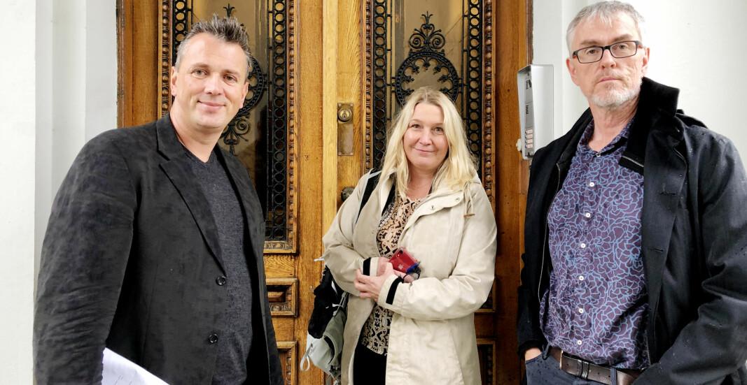 Forskerforbundets Helge Holgersen, advokat Mariann Helen Olsen og Steinar Vagstad har vært involvert i saken.