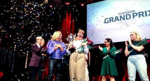 Tora Söderström Gaden til topps i Forsker Grand Prix